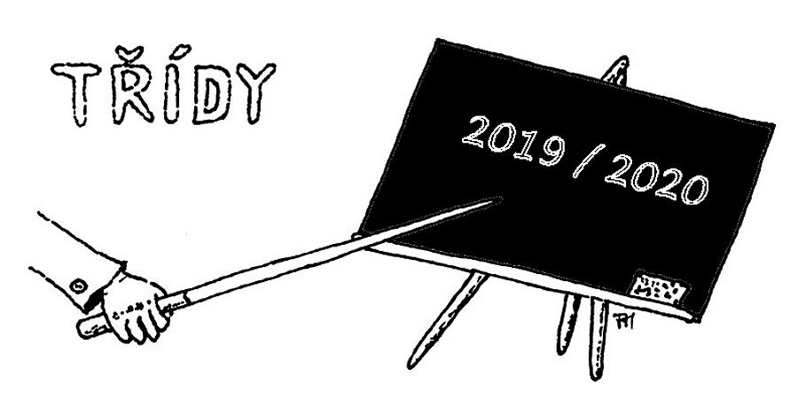 Třídní kolektivy - 2019 / 2020